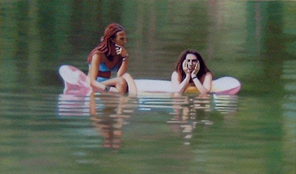 Monya et Heidi, Italie - © Galerie des Galeries